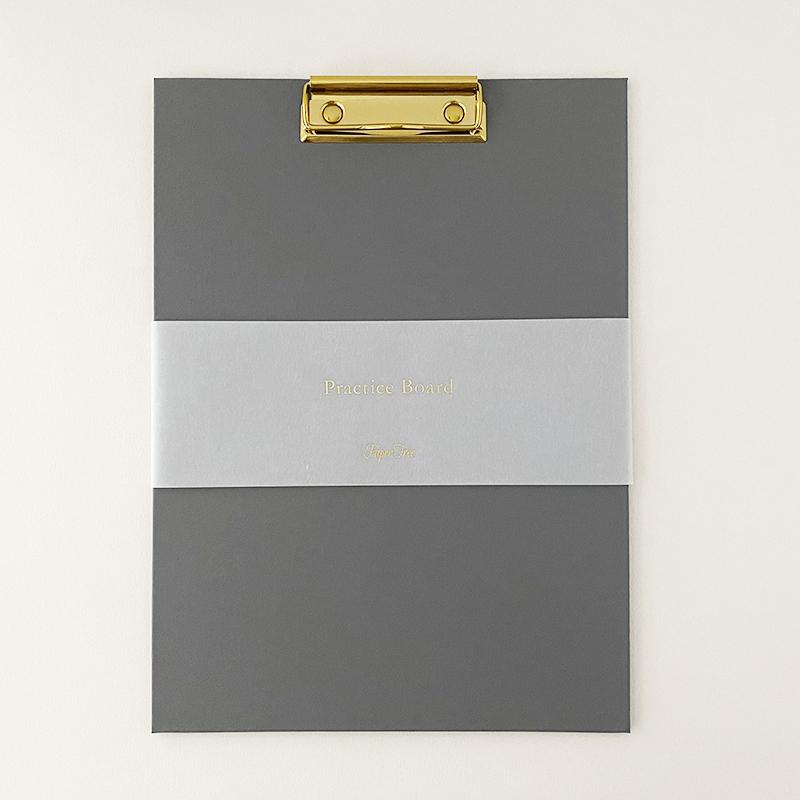 Paper Tree Original/カリグラフィー/Practice Board - Gray