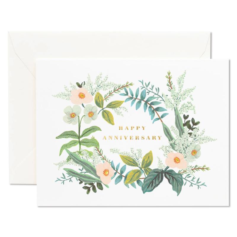 Rifle Paper/シングルカード/Anniversary Bouquet