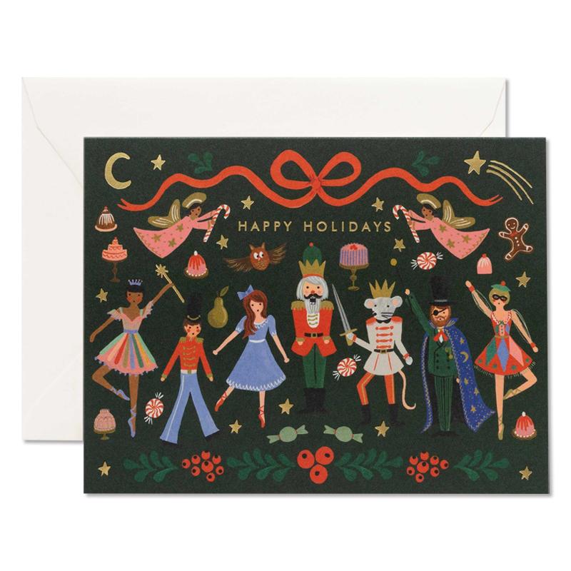 Rifle Paper/シングルカード/クリスマスバレエ