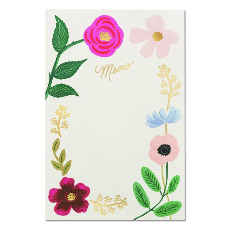 ライフルペーパー/ノートパッド/Wild Flowers