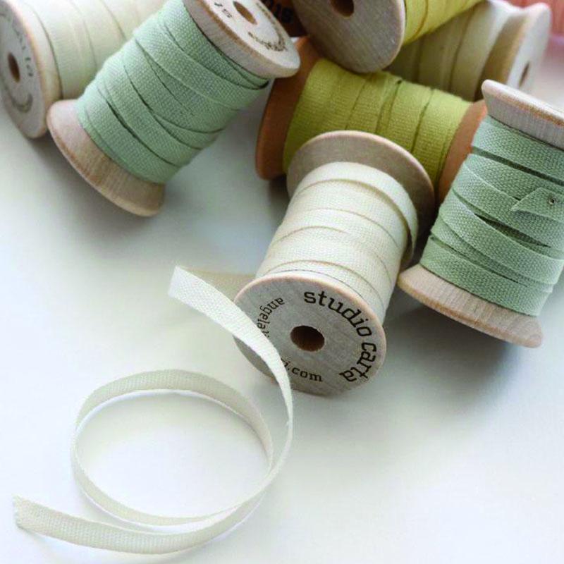 Studio Carta/コットンリボン/Cotton Ribbon 全16色