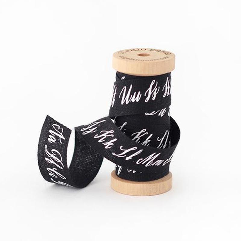 スタジオ・カルタ/コットンリボン/Calligraphy Ribbon