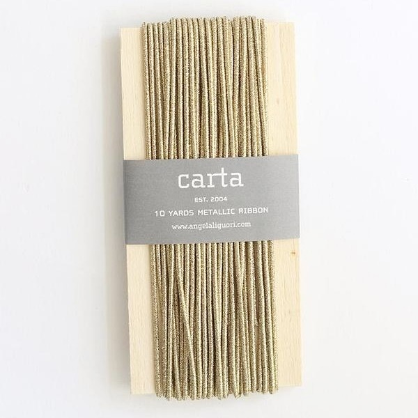 Studio Carta/メタリックエラスティックラウンドコード/Metallic Elastic Round Cord - Gold