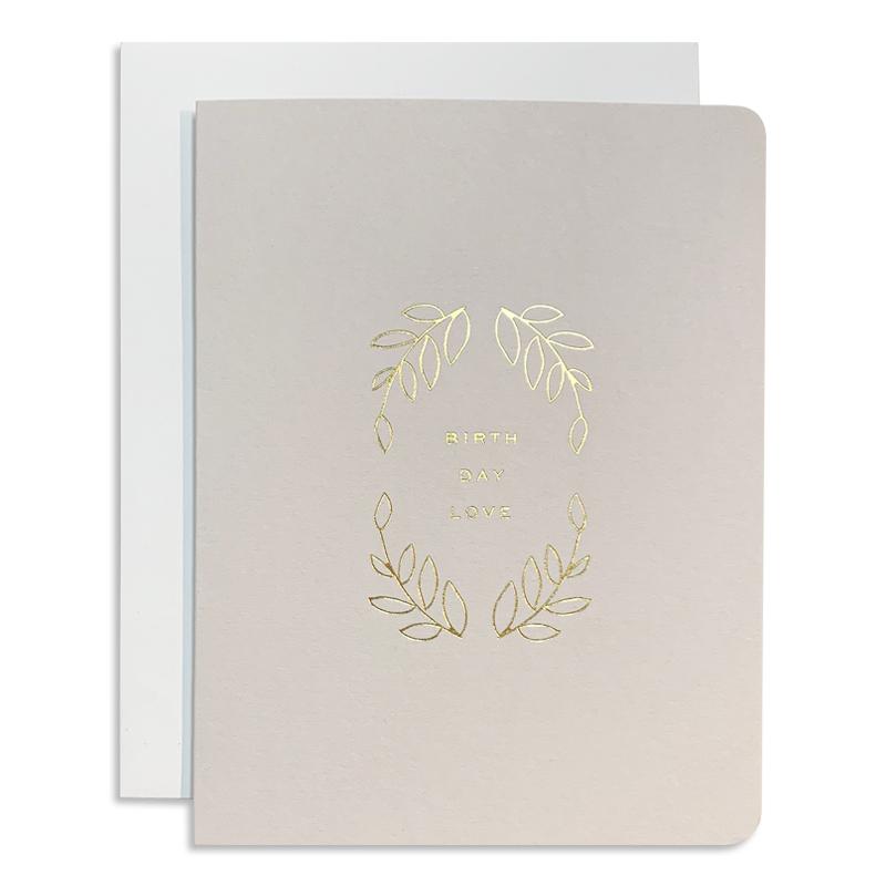 Smitten On Paper/シングルカード/Birthday Love Greeting Card