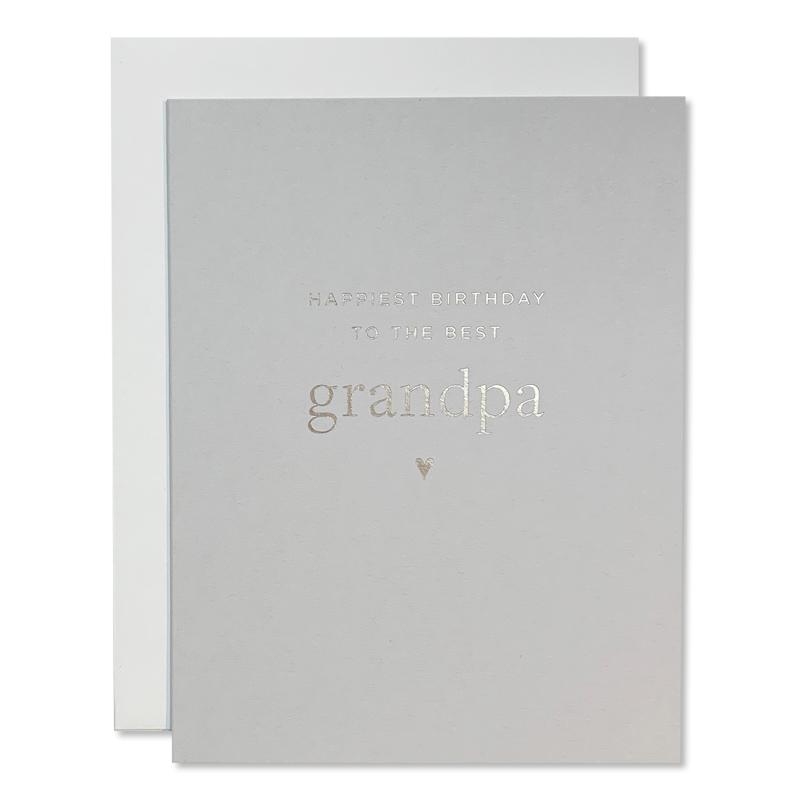 Smitten On Paper/シングルカード/Grandpa Birthday Greeting Card