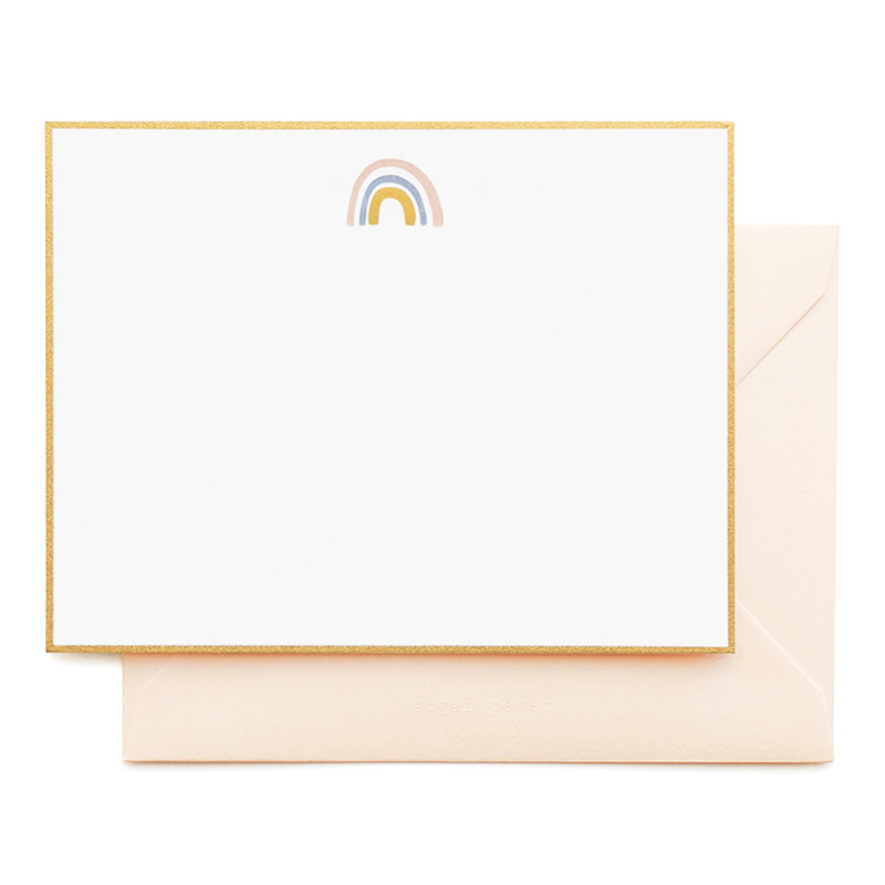 Sugar Paper/ボックスカード/Rainbow Noteset
