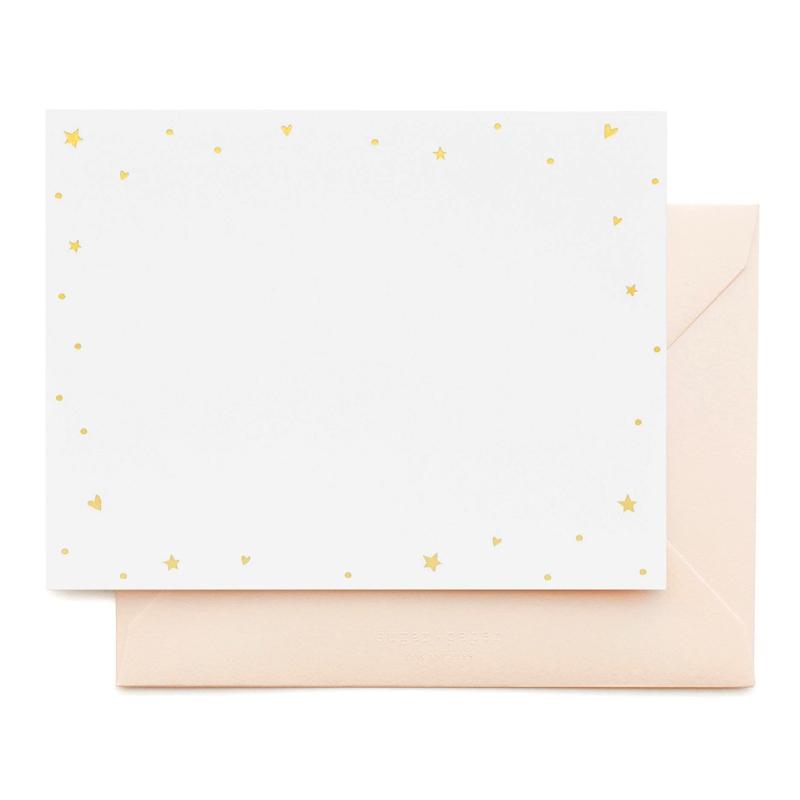 Sugar Paper/ボックスカード/Starry Hearts Noteset