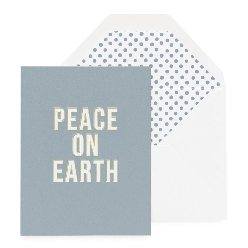 Sugar Paper/ボックスカード/Peace on Earth