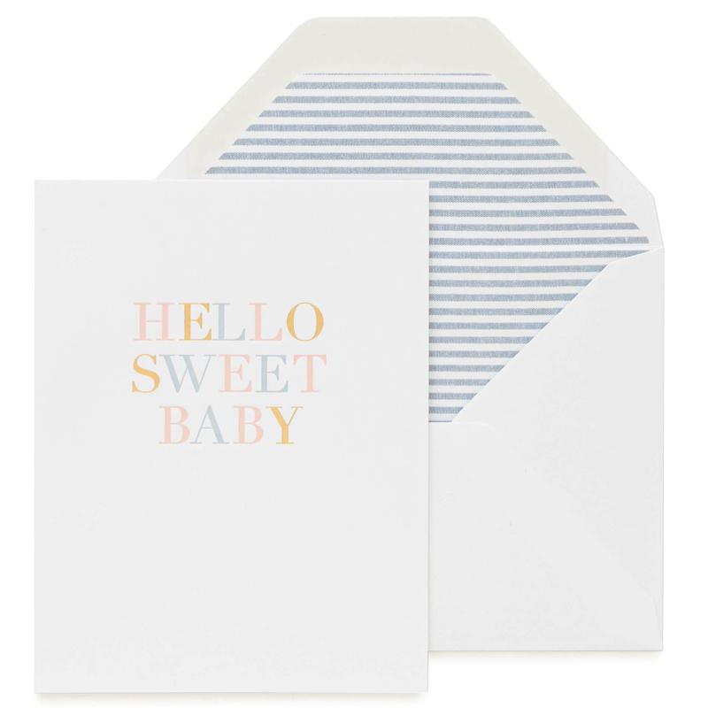 Sugar Paper/シングルカード/Hello Sweet Baby