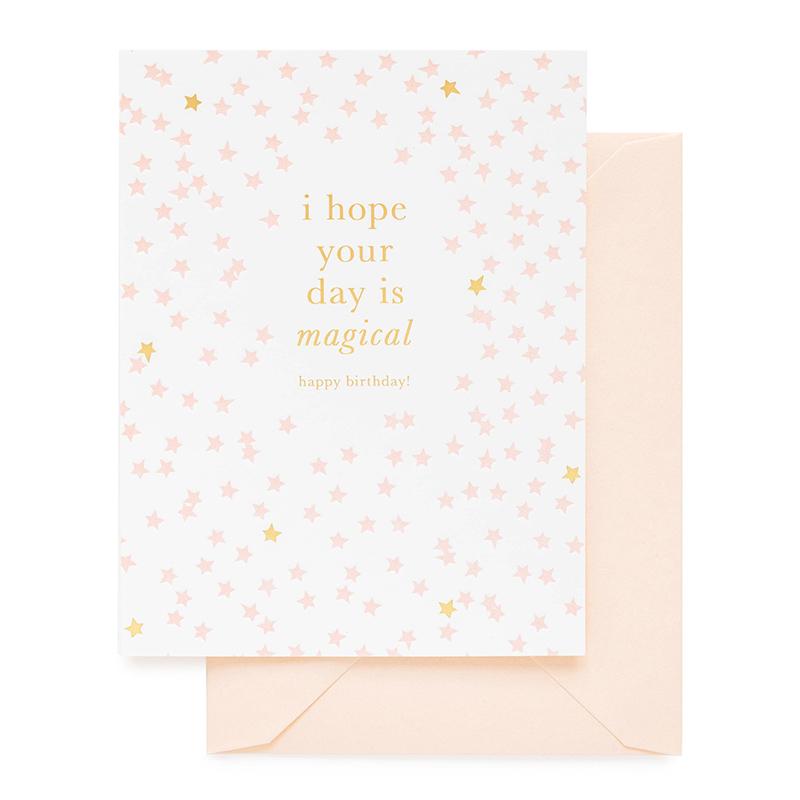 Sugar Paper/シングルカード/Magical Happy Birthday