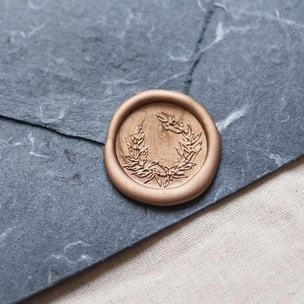 Stamptitude/シーリングスタンプ&ワックス/Wreath Wax Seal