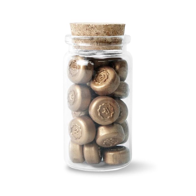 Stamptitude/ワックスぺブル/Bronze Wax Pebbles