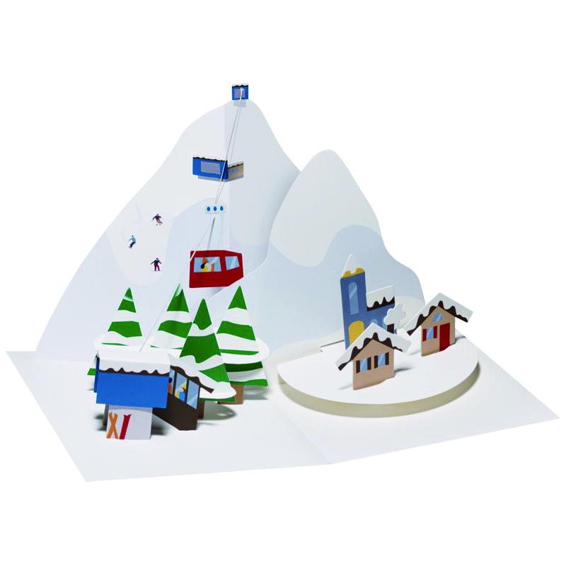 アップ・ウィズ・ぺーパー/ボックスカード/Alpine Village
