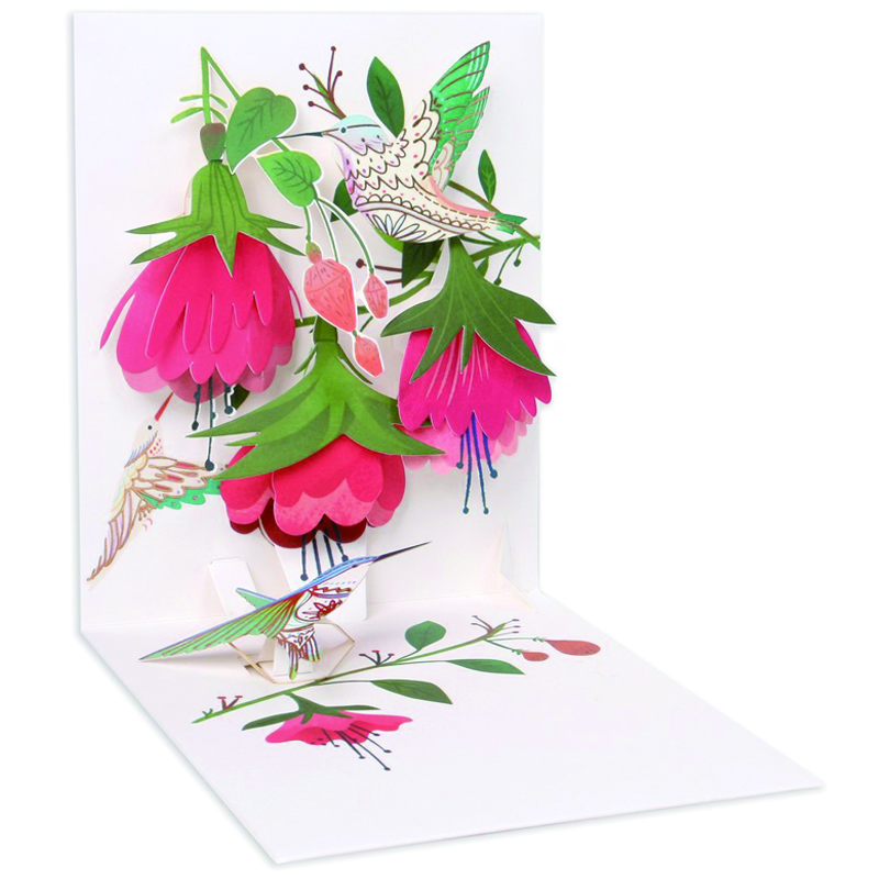 Up With Paper/シングルカード/Humming Bird Birthday