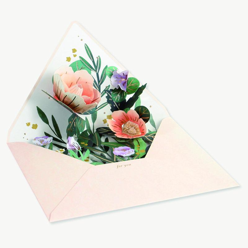 UWP LUXE/シングルカード/Wildflower Envelope