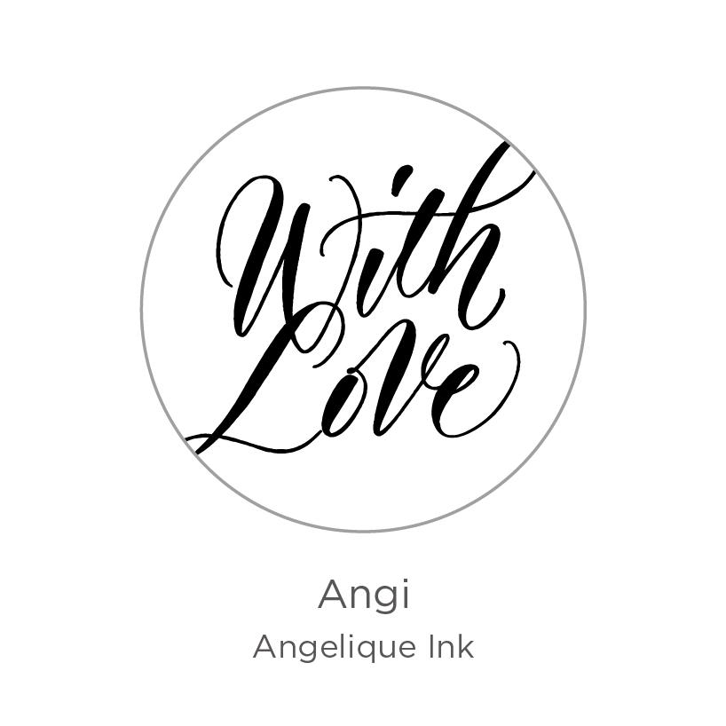 【ご予約商品】WRITE for the planet/チャリティープロダクト/Sealing Stamp - Angi