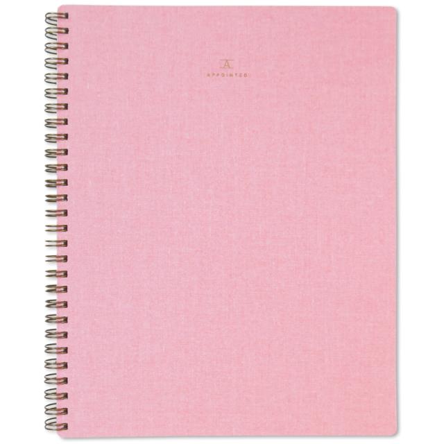 アポインティッド/ノートブック/Notebook/Blossom Pink:Grid