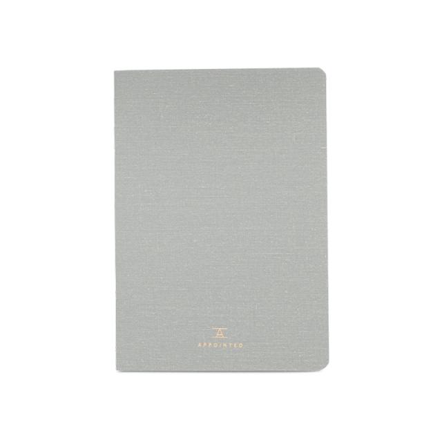アポインティッド/ノートブック/Notebook/Dove Gray: Blank
