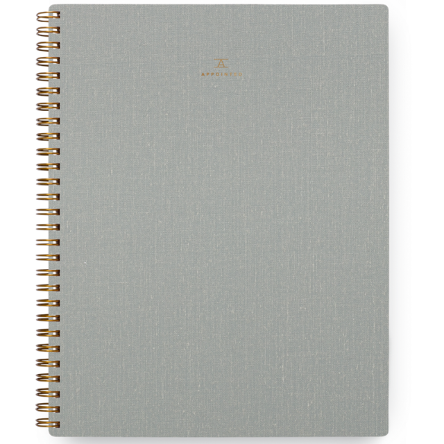 Appointed/ノートブック/Notebook/Dove Gray:Lined
