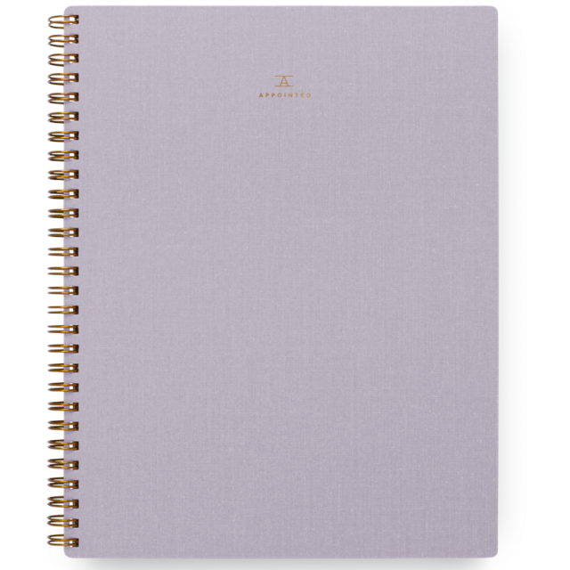 Appointed/ノートブック/Notebook/Lavender Gray:Lined