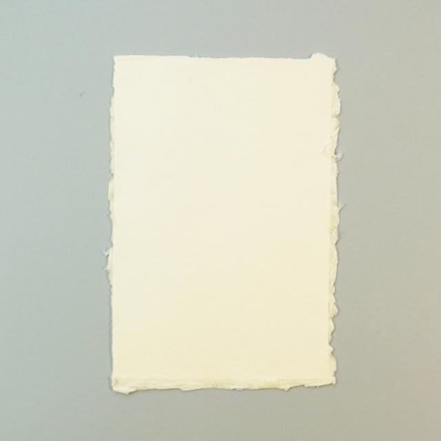 アルパ/コットン紙カード/ARPA Cotton Paper: Ivory