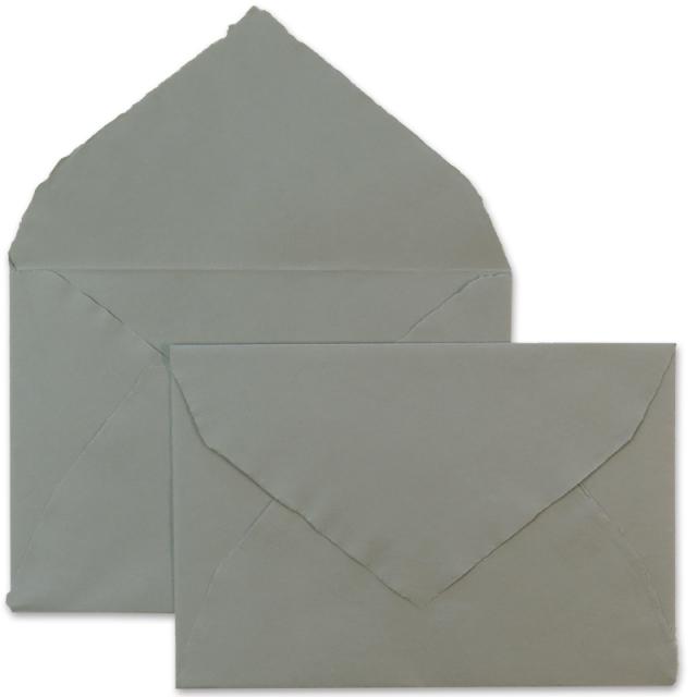 アルパ/ハンドメイドコットン封筒/ARPA Envelope: Dark Gray