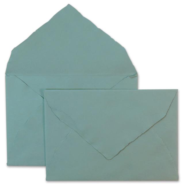 アルパ/ハンドメイドコットン封筒/ARPA Envelope: Dark Blue