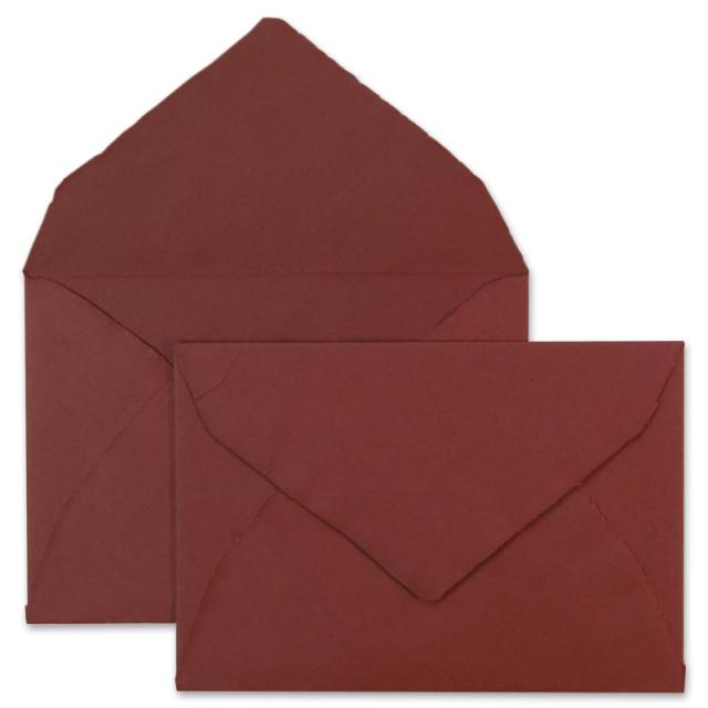 ARPA/ハンドメイドコットン封筒/Envelope: Bordeaux