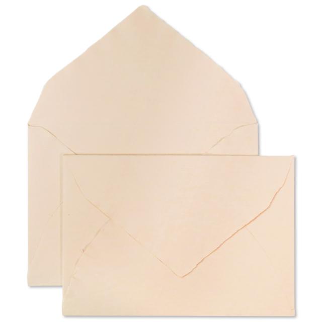 アルパ/ハンドメイドコットン封筒/ARPA Envelope: Salmon