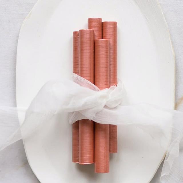 Artisaire/グルーガンワックス/Rose Sealing Wax Sticks (5 Pack)