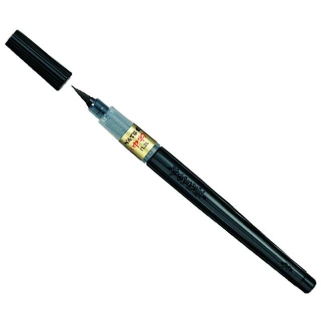 カリグラフィー/ぺんてる 筆ペン/Pentel Brush Pen (Medium)