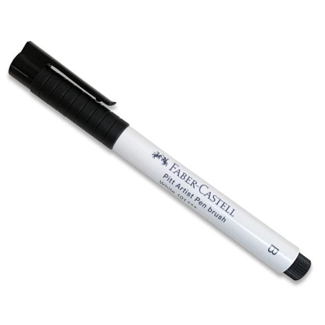 Faber-Castell/ブラッシュカリグラフィー/Pitt Artist Pen White