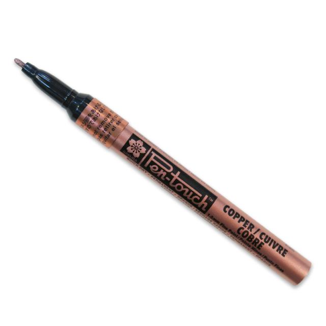 Sakura/カリグラフィーペン/Sakura Pen-Touch Metallic Bullet tip Marker-1mm Copper Fine Point