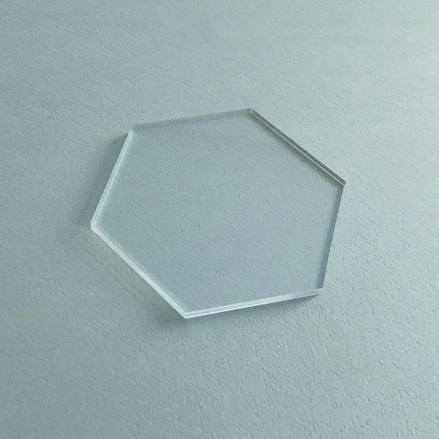 Paper Tree Original/カリグラフィーアクリルプレート/Acrylic Plate: Hexagon