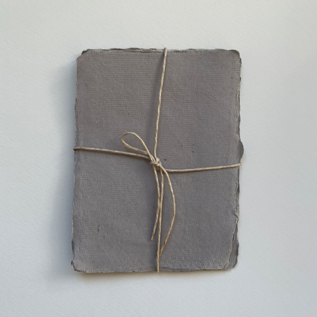 Indian Handmade Cotton Paper/カード5枚セット Sサイズ