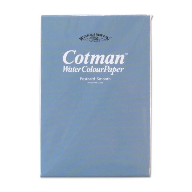 カリグラフィー/ペーパー/Winsor&Newton: Cotton Water Colour Paper Postcard Medium (30 sheets)
