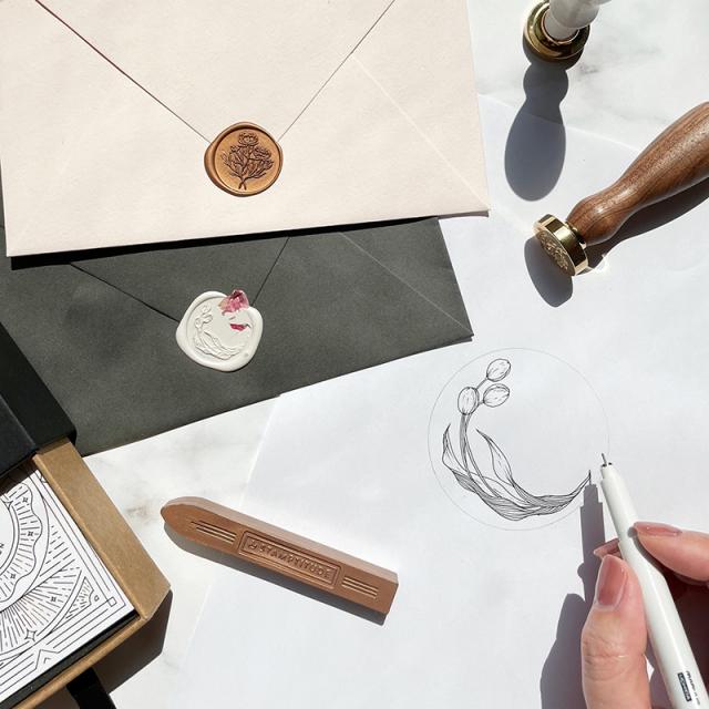 """Shiho Sakurai -""""Original Botanical Motif"""" Sealing Stamp Workshop"""