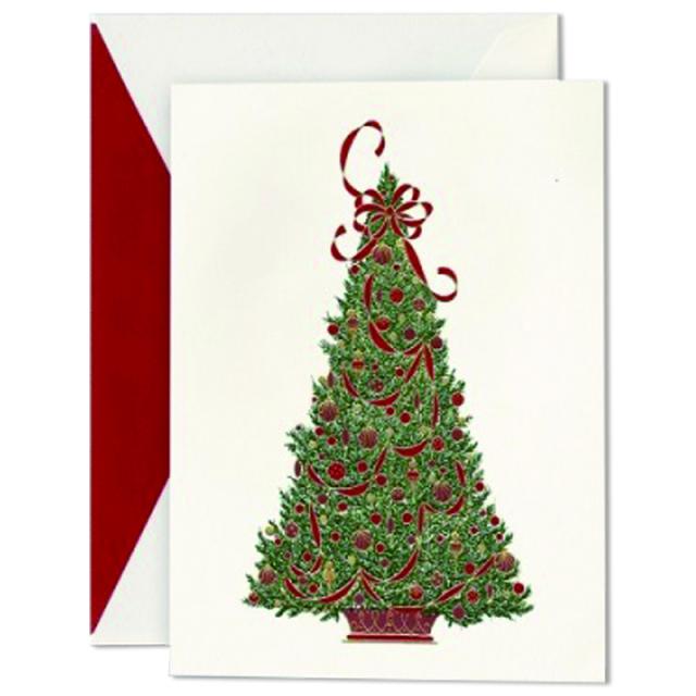 クレイン/ボックスカード/Festival Christmas Tree