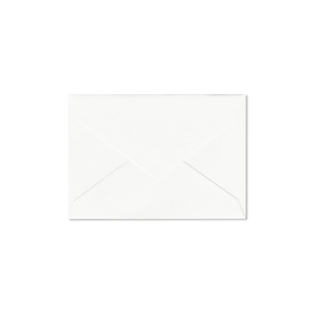 クレイン/ボックスカード/Pearl White Enclosure Envelope 100 envelopes