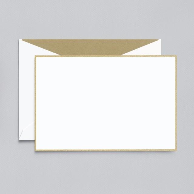 Crane/ボックスカード/Gold Border PW Card (10 Cards / 10 Envelopes)
