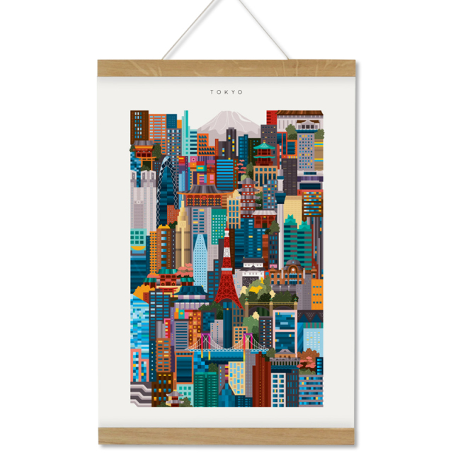 The City Works/アートワーク/Tokyo Colorprint