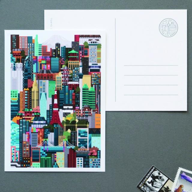 シティワークス/ポストカード/Tokyo Post Card