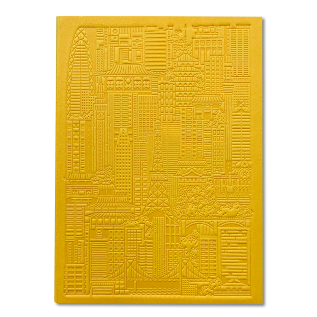 The City Works/ノートブック/Tokyo Debossed Notebook - Yellow