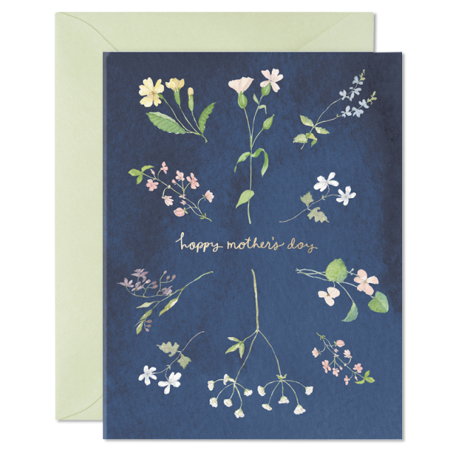 E.Frances/シングルカード/ Mother's Day Wildflowers