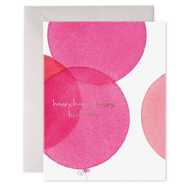 E. Frances/シングルカード/Pink Balloons