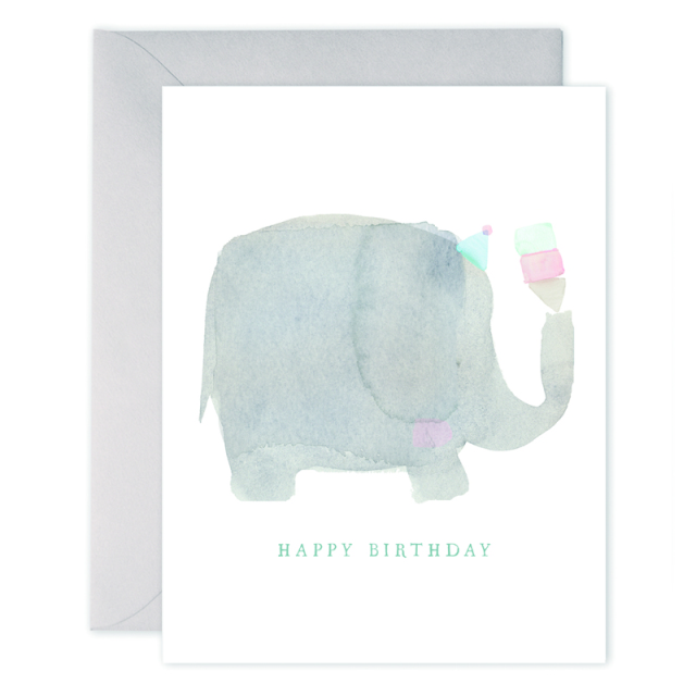 E. Frances/シングルカード/Elephant Birthday