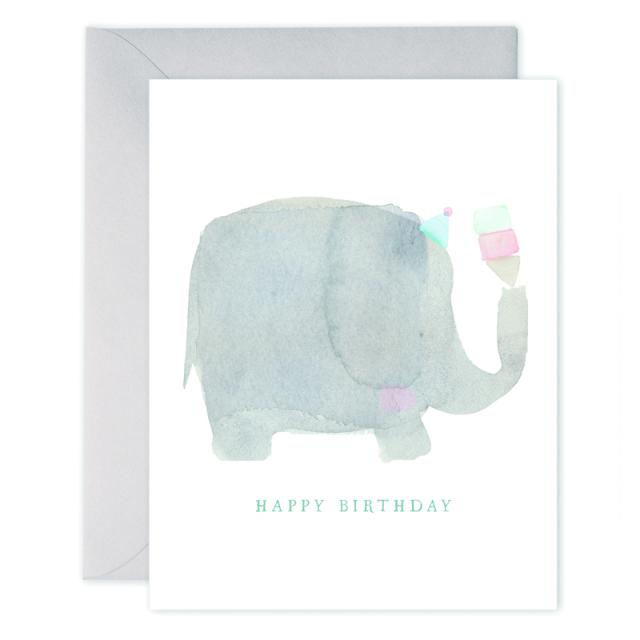イー・フランシス/シングルカード/Elephant Birthday