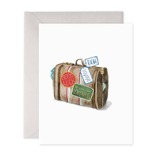E.Frances/シングルカード/Bon Voyage Suitcase
