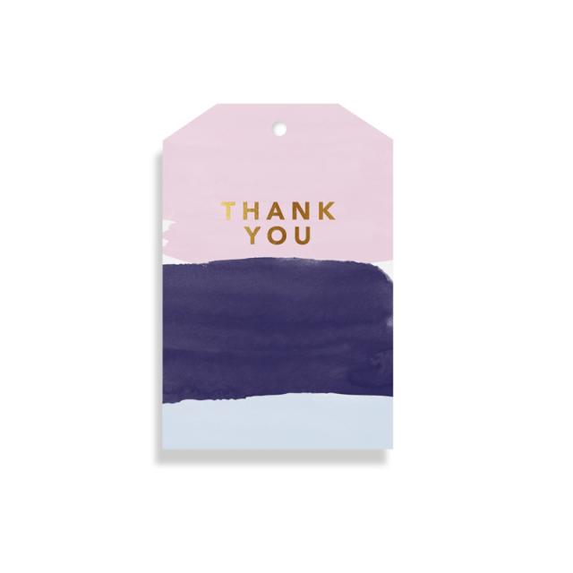 エルム/ギフトタグ/Watercolour Thank You