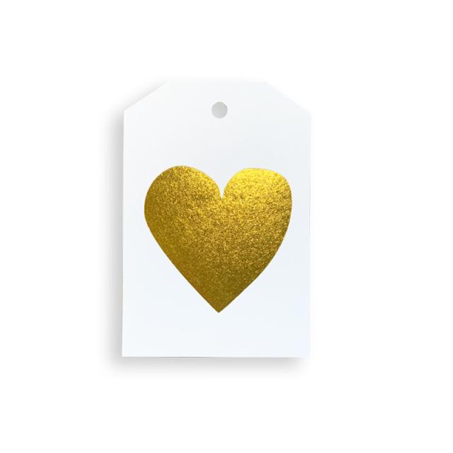 Elm Paper/ギフトタグ/Gold Heart